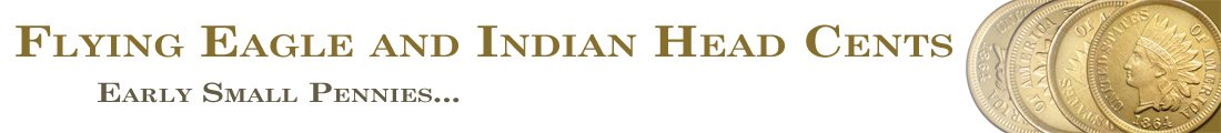 Flying Eagle and Indian Head Cents Logo